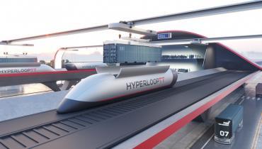 HyperloopTT разработал систему транспортировки грузовых контейнеров со скоростью звука