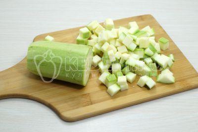 Макаронная запеканка с овощами