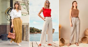 Лён – самая комфортная ткань на лето. Какую одежду изо льна покупать летом 2021