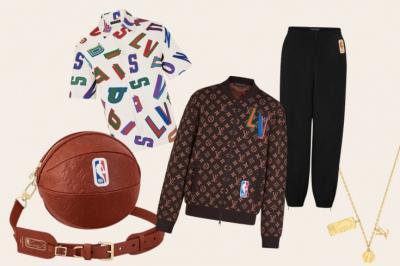 Коллекция Louis Vuitton для НБА