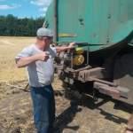В Курской области пожарные провели рейд по зерновым полям
