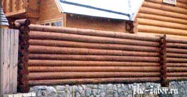 Какие существуют варианты деревянных заборов для дачного участка?