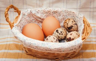 Калорийность куриного яйца