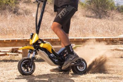 Представлен самый трансформируемый мотоциклетный скутер Splach Transformer по цене от 1100 долларов (5 фото + видео)