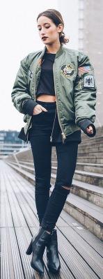 Женские бомберы: какие модели будут модными этой осенью