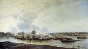 Чтобы помнили: победа русского флота в Гангутском сражении