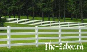 Строим забор в стиле ранчо или Дикий Запад у вас на даче