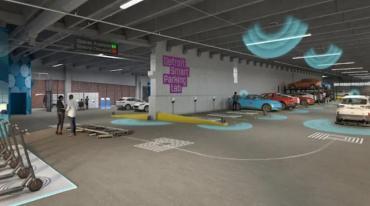 Ford и Bosch откроют первую умную парковку