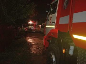 В Курске горел одноэтажный жилой дом с пристройкой
