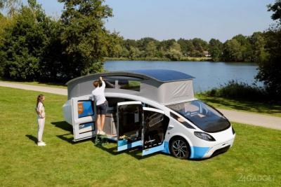 Электрифицированный «Солнечный дом» на колесах протестируют на маршруте 3000 км (9 фото)