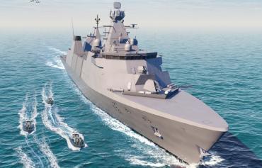 Первый британский фрегат класса Inspiration сойдет на воду в 2023 году