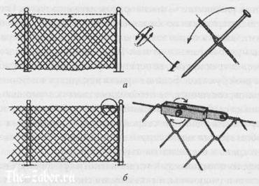 Сетчатые заборы на страже вашего участка – изготовление и установка